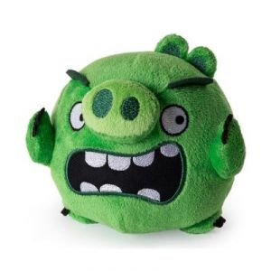 Spin Master Peluche Angry Bird : Pigs (12,5 cm)