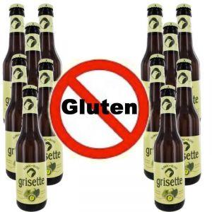 Grisette 12 bières blondes 5.5° sans gluten