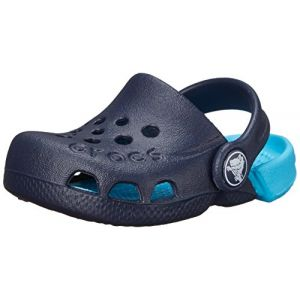 Image de Crocs Electro Kids, Mixte Enfant Sabots, Bleu (Navy/Electric Blue), 24-25 EU