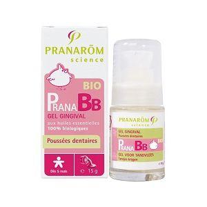 Pranarôm PranaBB - Gel gingival poussées dentaires