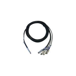 Cisco QSFP-4SFP10G-CU1M= Câble réseau QSFP/SFP 1 m