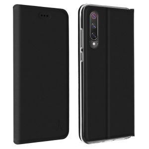 Akashi Etui Folio Porte Carte Noir Xiaomi Mi 9