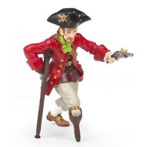 Papo Figurine Pirate jambe de bois au pistolet