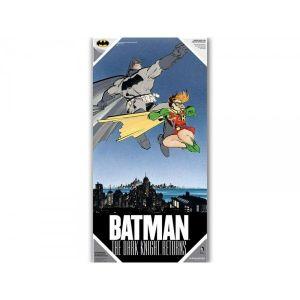 SD Toys Poster en verre DC Comics Dark Knight Returns Batman & Robin (30 x 60 cm)