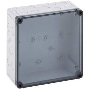 Spelsberg Coffret d'installation TK PS 1313-10-tm 10650501 gris clair (RAL 7035) 130 x 130 x 99 Polycarbonate, Polystyr