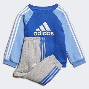 Adidas Survêtement / Logo Fleece Jogger Bleu/Gris - Taille 3-4 Ans