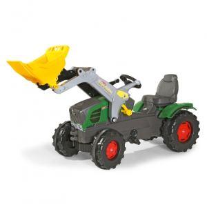 Rolly Toys Tracteur à pédales Fendt Vario 211 avec chargeur