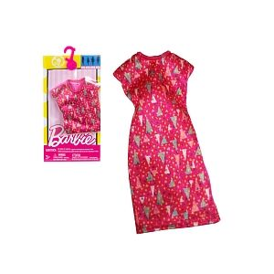 Mattel Robe tendance rose à triangles pour Barbie DWG12