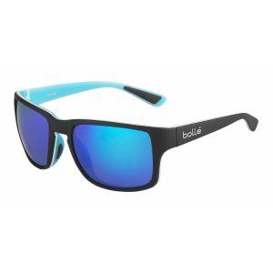 Bollé Slate HD Polarized Cat. 3 (VLT 12%) - Lunettes de soleil taille M, bleu/turquoise/noir