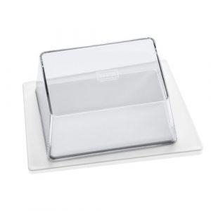 Koziol Beurrier Kant blanc,transparent en matière plastique