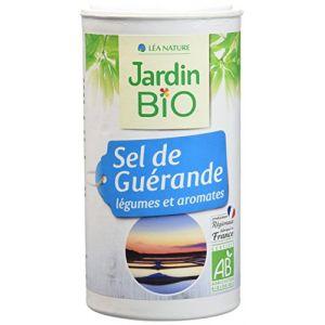 Jardin Bio Sel de Guérande aux Légumes/Aromates 150 g - Lot de 3