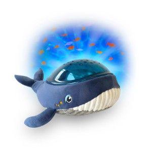 Pabobo Peluche Baleine veilleuse projecteur dynamique calm océan effets aqua