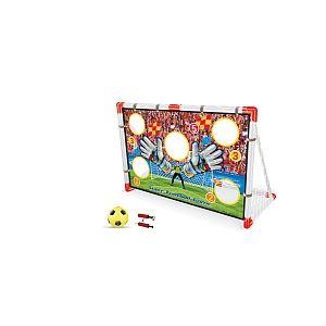 Stats Cage de foot avec mur de tir et ballon