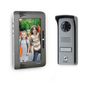 Extel UP720292 - Portier Vidéo Gris écran 18cm