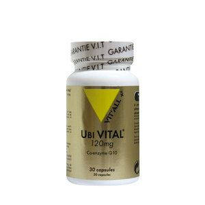 Vit'All + Ubi vital 120mg coenzyme q10 - 30 capsules
