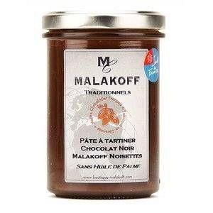 Malakoff Pâte à tartiner Chocolat Noir Noisettes