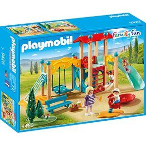 Playmobil 9423 - Parc de jeu avec toboggan