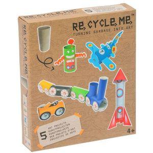Neotilus Kit créatif ReCycleMe Engins et personnages imaginaires