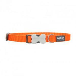 RedDingo Collier pour Chien Orange 30-47 cm 20 mm