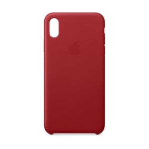 Apple Coque iPhone XS Max cuir (PRODUCT) Red