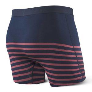 Saxx Underwear Vêtements intérieurs Ultra Boxer Fly - Sailor Stripe - Taille S