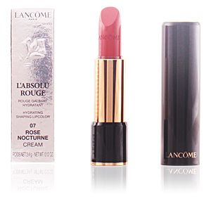 Lancôme L'Absolu Rouge : 07 Rose Nocturne - Rouge galbant hydratant