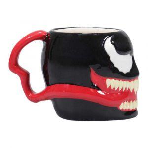 Half Moon Bay Marvel - Shaped Mug 3d Boxed - Venom [Produit Derive]