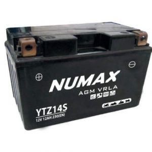 Numax Batterie moto Premium AGM YTZ14S 12V 11.2Ah 230A