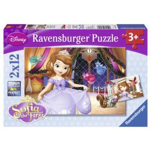 Ravensburger Puzzle Princesse Sofia 2 x 12 pièces