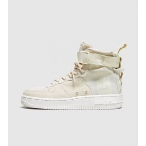 Nike Baskets montantes SF Air Force 1 Mid Beige