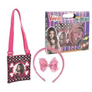Sahinler Set sac et accessoires à cheveux Chica Vampiro
