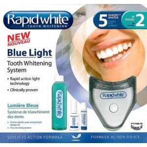 Rapid White Blue Light - Système de blanchiment des dents