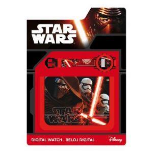 Set montre et portefeuille Star Wars pour enfant