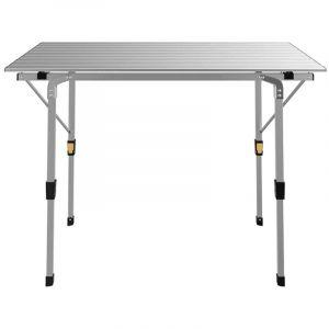 Interouge Table Pliante 90 x 53 x 70 cm pour Camping en Al ini