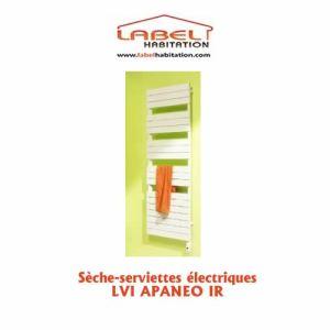 Lvi 3890012 - Sèche-serviettes Apaneo IR avec thermostat électronique mural IR control 750 Watts