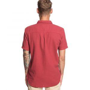 Quiksilver Time Box - Chemise manches courtes pour Homme - Rouge