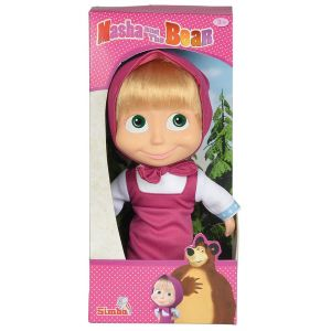 Simba Toys Poupée Soft Masha And The Bear 23 cm