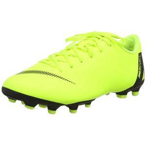 Nike Chaussure de football multi-terrainsà crampons Jr. Mercurial Vapor XII Academy pour Jeune enfant/Enfant plus âgé - Jaune - Taille 38.5 - Unisex