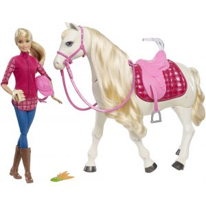 Image de Mattel Barbie et son cheval de rêve
