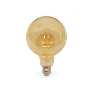 Vision-El Ampoule Led COB FILAMENT SPIRALE 4W (35W) E27 Blanc chaud 2700°K Golden Ø125