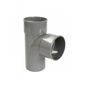Nicoll TE REDUIT PVC 90° MALE/FEMELLE 100/50/100MM -