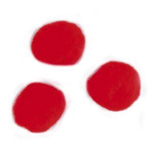 Rayher Pompons 15mm set de 60 Rouge