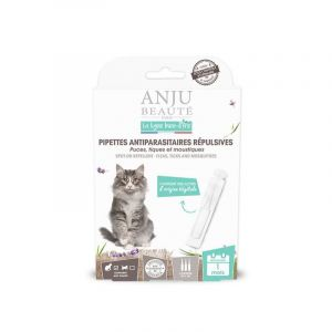 Anju Beauté Paris Pipette insectifuge pour chat x 3