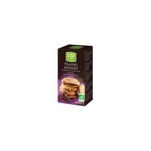 Le Moulin du Pivert 10 biscuits Bio fourrés au chocolat noir