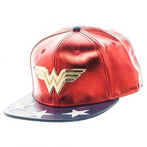 Wonder Woman Suit Up Snapback Cap Red [Goodies]