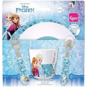 Tigex Set vaisselle micro-ondes 3 pièces La Reine des neiges