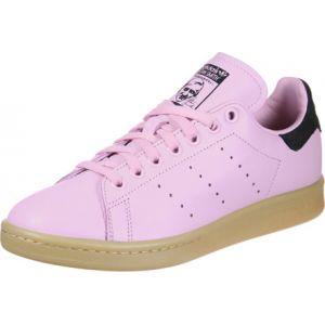 Adidas Stan Smith, Baskets Femme, Rose (Wonder Pink/Wonder Pink/Core Black 0), 37 1/3 EU