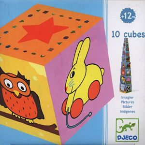 Djeco Cubes imagiers 10 pièces