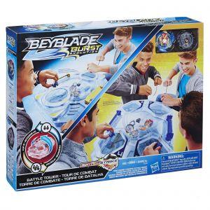 Hasbro Arène de combat Beyblade Burst - Set de combat double surface