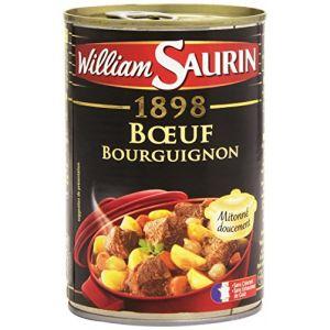 William Saurin Boeuf bourguignon mitonnée doucement - La boîte de 400g